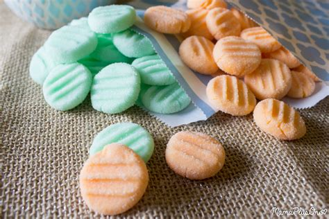 Cheese Mints For Baby Shower by Pumpkin Spice Baby Shower Mints Plus One