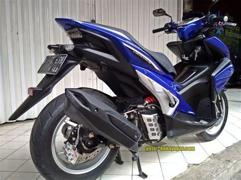 Aerox Modif by Modifikasi Yamaha Aerox 155 Pakai Monoshock Jadi Makin