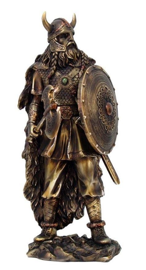 viking home decor norse mythology paganism god viking axe warrior 13 quot h