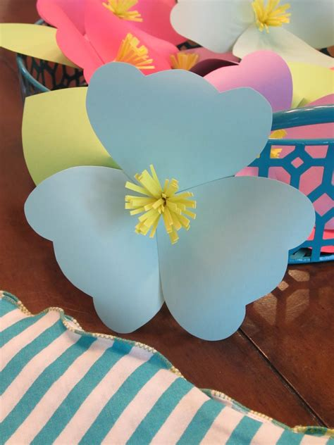 home made party decorations homemade luau party paper flowers design sprinkle