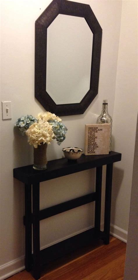 small modern entryway table best 25 small entryway tables ideas on small
