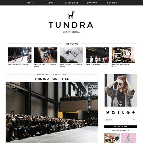 blogspot themes shop tundra a monochrome blogger blogspot template by pipdig