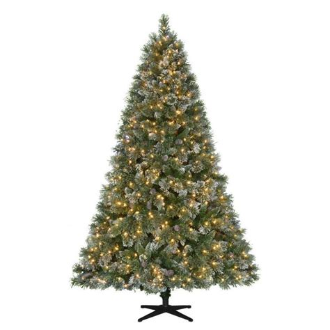 pre lit christmas trees artificial christmas trees the