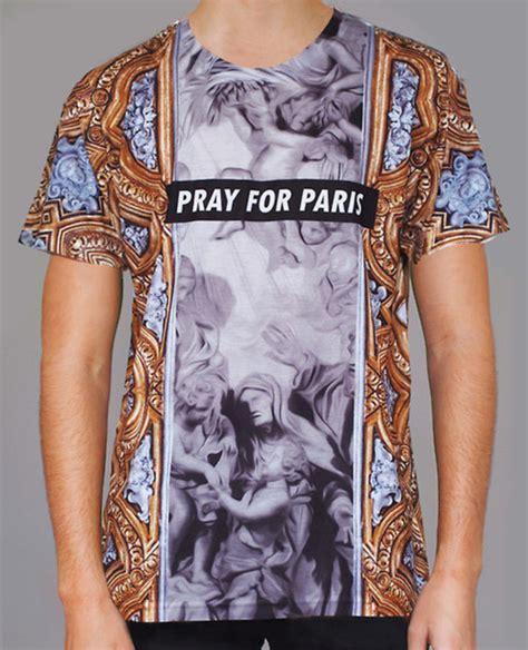 cara edit foto pray for paris t shirt clothes pray for paris wheretoget