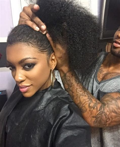 brandies real hair revieled porsha williams real hair revealed the hollywood gossip