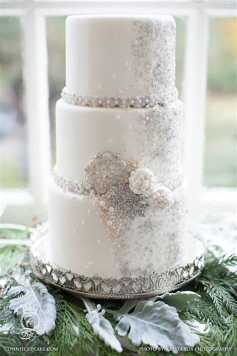 16 best images about silver wedding cake ideas on