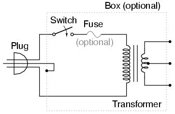 transformer power supply ac circuits