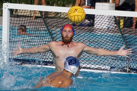 water polo goalkeeper books pitzer senior and sagehen water polo goalie daniel diemer