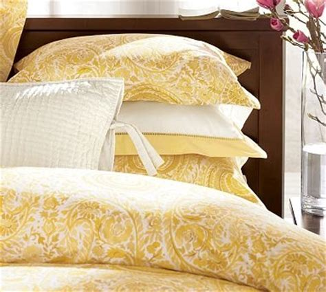 Yellow Paisley Comforter by Paisley Bedding Panda S House