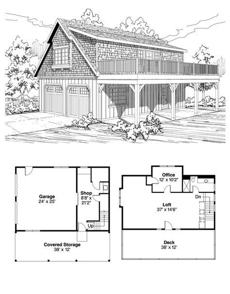 garage office plans garage apartment plan 59475 total living area 838 sq ft