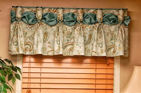 how to make a valance curtain window valance ideas cottage window treatment kitchen