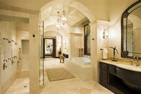 master bedroom and bathroom ideas hollow master bath mediterranean bathroom