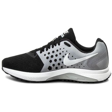 shoes nike zoom span 852437 002 black white wolf grey