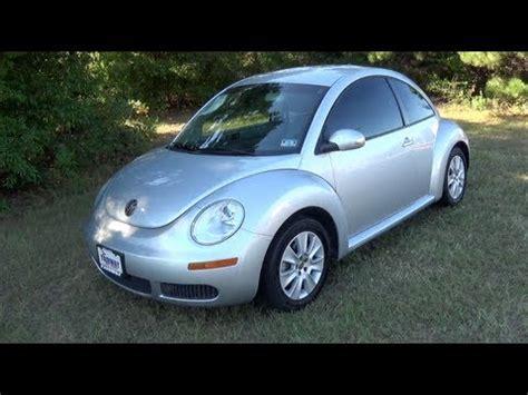 volkswagen  beetle startup  test drive youtube