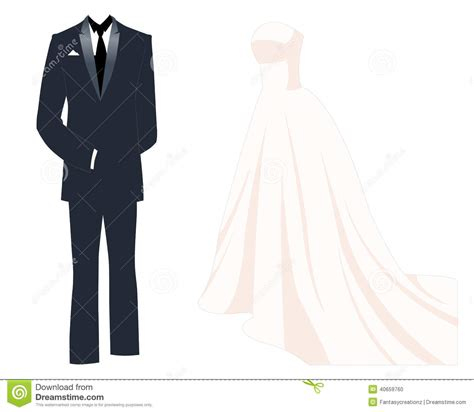 Wedding Tuxedo Clipart by Wedding Dress Clipart Groom Tuxedo Pencil And In Color
