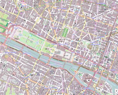printable street map paris file 1er arrondissement paris france open street map