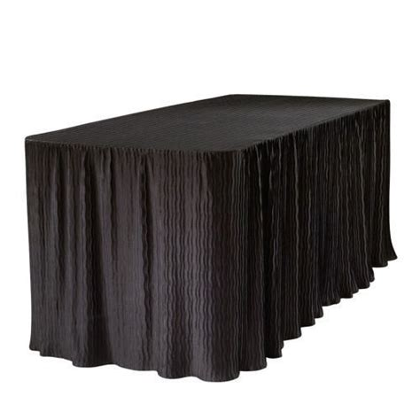the folding table cloth 174 for 6 foot tables black color 2pack free shipping ebay