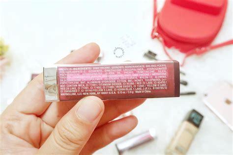 Warna Dan Lipstik Maybelline review dan swatch 26 warna lipstick maybelline the powder