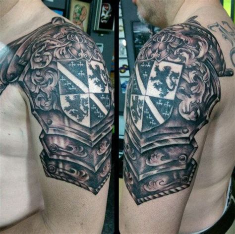 celtic armor tattoo armor 50 family crest tattoos for proud
