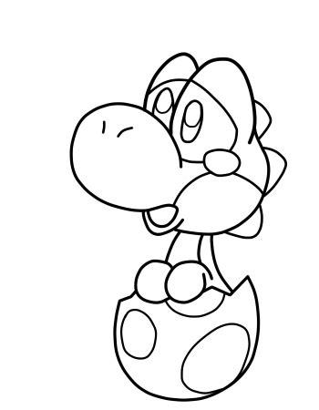 baby yoshi coloring page sad baby yoshi by anthonyc86 on deviantart