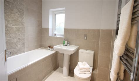show house bathrooms bocking a new build family home homestagers