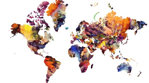 Best 25 World Map Wallpaper - top image 1 map depicting wallpapers