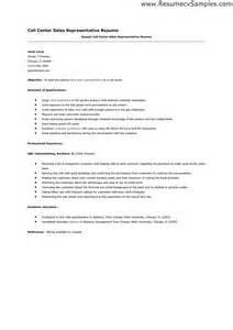 Sle Resume For Call Center by Call Centre Customer Service Cover Letter