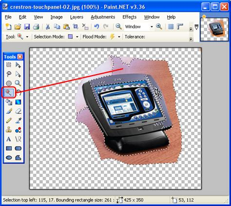 paint tool sai magic wand selecting everything create clean tidy visio shapes using images with