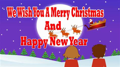 wish you a happy new year we wish you a merry and a happy new year