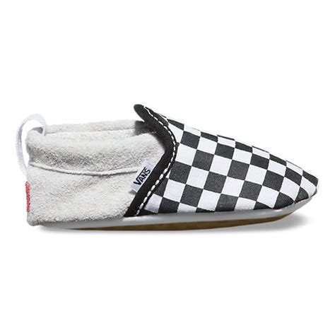 Baby Vans Crib Shoes by Infant Slip On Crib Shop Baby Shoes At Vans