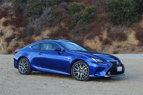 lexus rc f sport 2016 lexus rc 350 f sport one week review automobile