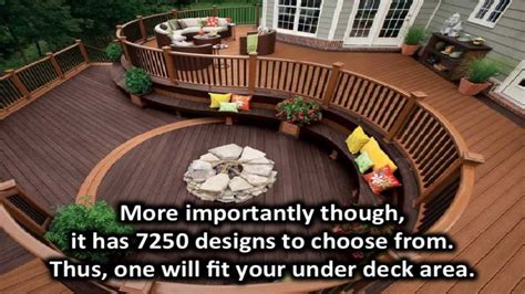 How To Decorate A Patio Under Deck Landscaping Ideas Youtube