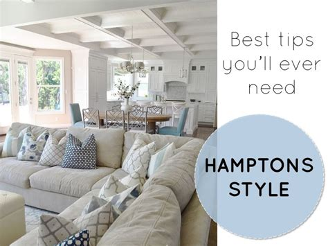 Best tips you will ever need for a hamptons style home