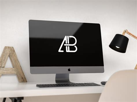 Imac On Desk by Apple Imac Pro On Desk Mockup Mockup