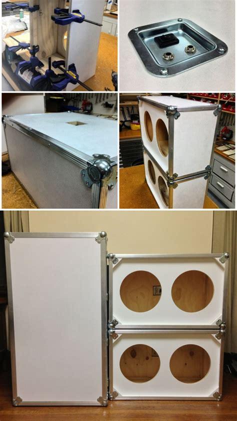 custom guitar speaker cabinets diy custom 2x12 guitar speaker cabinets carpentry