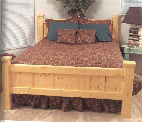 pine beds pine bed wood furniture plans immediate download