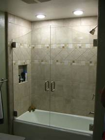 shower doors on tub bathtub enclosure doors bathtub doors