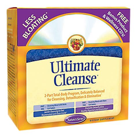 Vitamin Shoppe Detox Reviews by Ultimate Cleanse 1 Kit By Natures Secret At The Vitamin