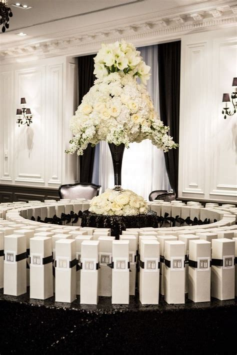 Olivia & Tony's wedding favours at Trump International