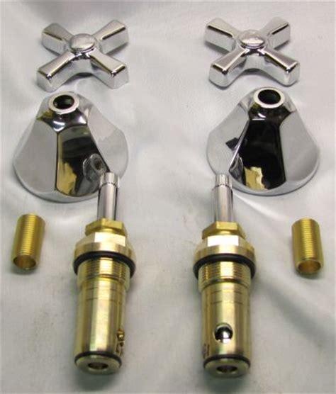 One Handle Shower Faucet Standard Shelfback Trim