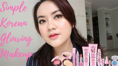 tutorial makeup alifah ratu simple korean glowing makeup moko moko one brand makeup