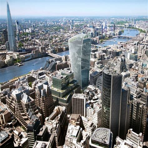 Small Houses Projects In Pictures Walkie Talkie Development In London Takes