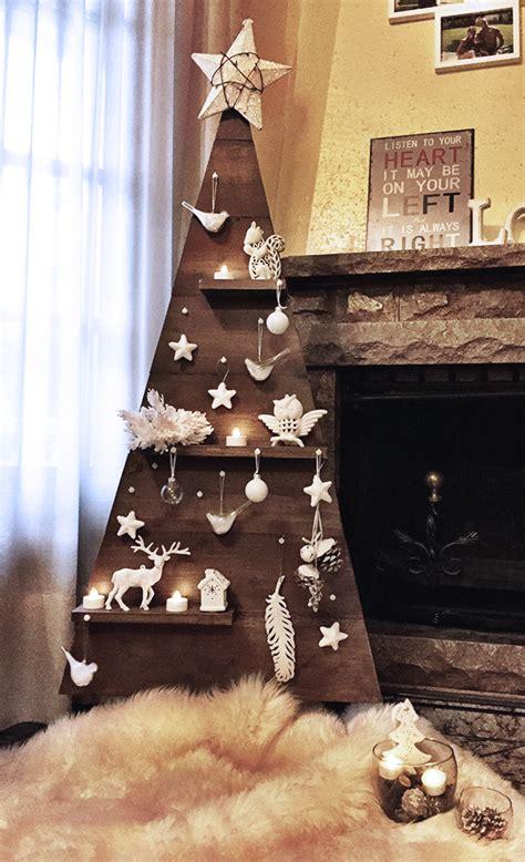 haz tu propio arbol de navidad de madera notario verde