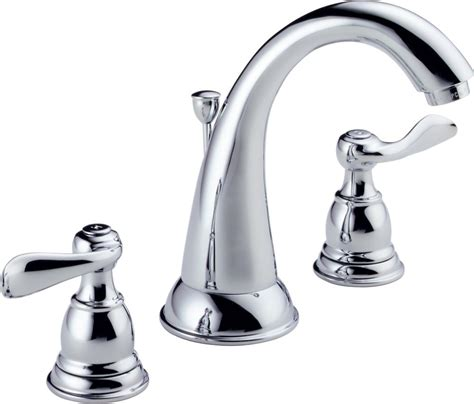 8 inch widespread bathroom faucet delta foundations 8 inch widespread 2 handle high arc