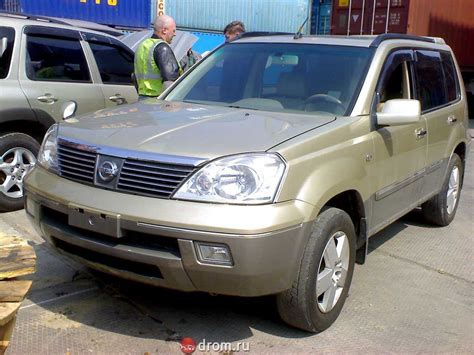 2002 nissan x trail pictures
