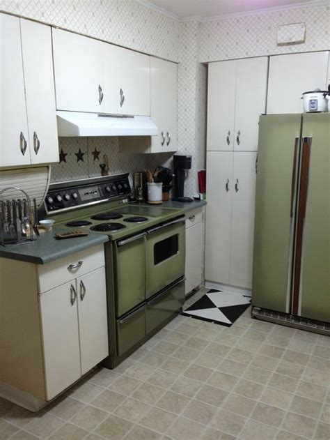 green kitchen appliances avocado green appliances