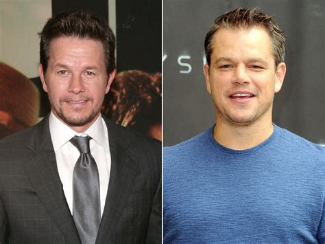 matt walberg fan mistakes wahlberg for matt damon wahlberg says