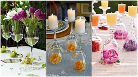 ideas de manualidades y centros de mesa con gomitas dulces cositasconmesh 15 ideas para elaborar centros de mesa con copas de cristal