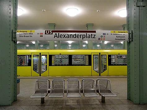 berlin u bahn updated 2017 metro map lines hours and