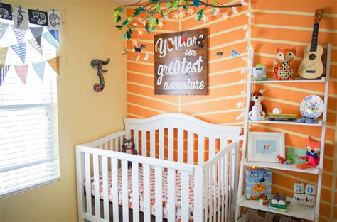 colorful nursery flynn s colorful woodland nursery project nursery